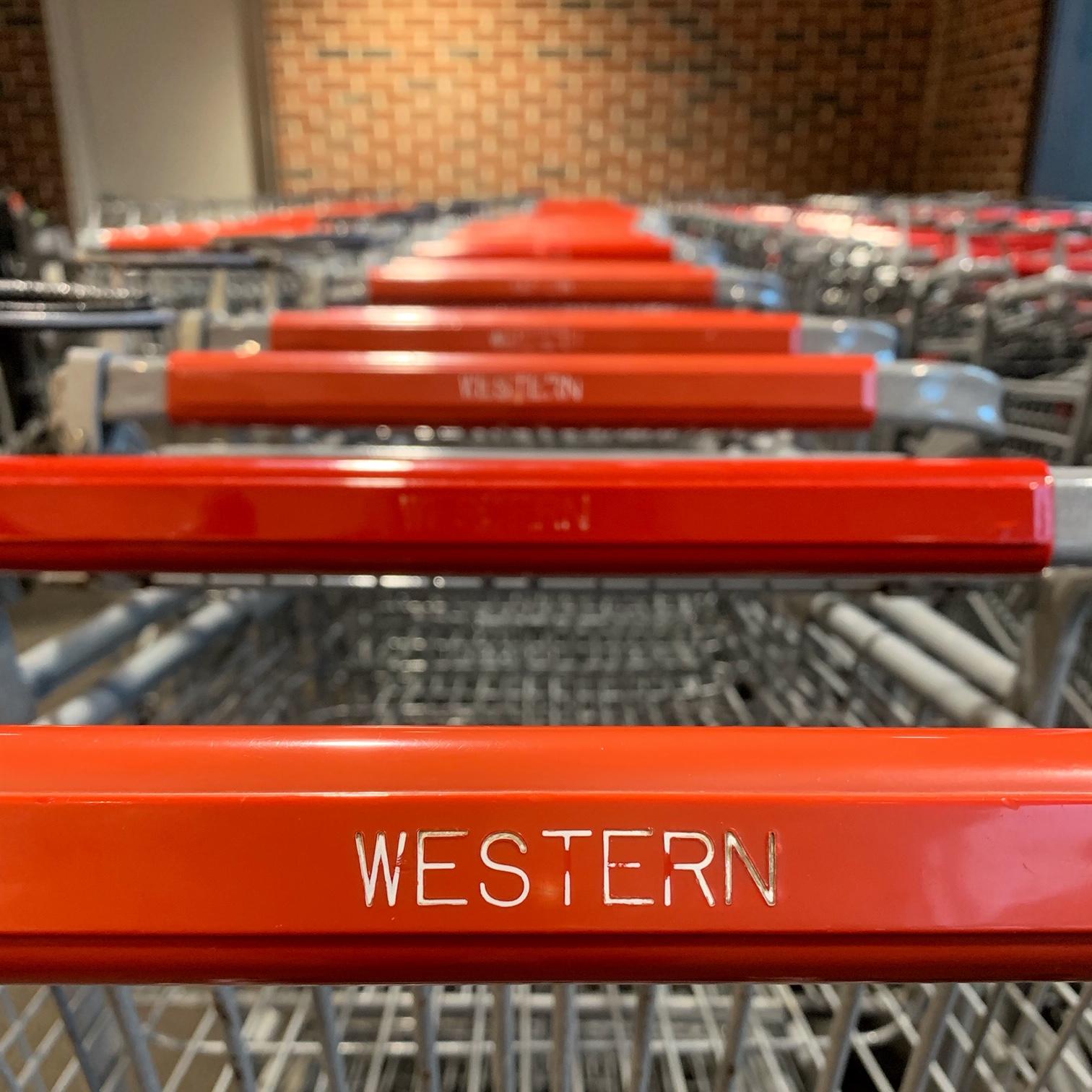 western supermarket buggy